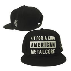 American Metalcore Black Snap-Back Hat