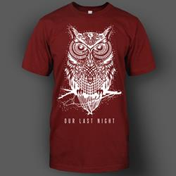Owl Maroon