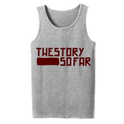 Logo Maroon / Heather Tank Top