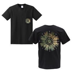 Flower Black Pocket
