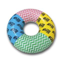 Multi Color Donut Pool Float