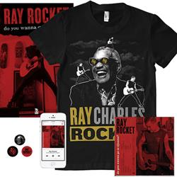 Ray Charles Shirt + CD Bundle