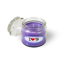 I Heart FLW  Candle