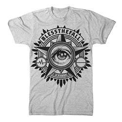 Blessthefall Eye Heather Grey