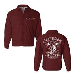 Coffin Maroon Windbreaker
