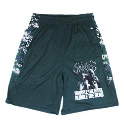 Trample Forest Green Digital Camo Shorts *Clearance*