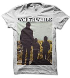 Worthwhile - Album Art White T-Shirt