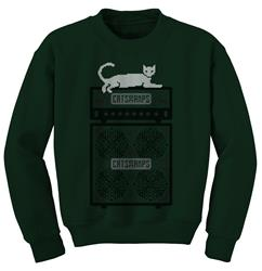 Ugly Forest Green Crewneck