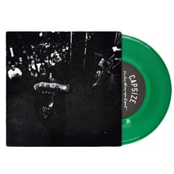 I've Been Tearing Myself Apart Transparent Green 7inch