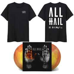 ALL HAIL Jupiter LP + Tee + DD