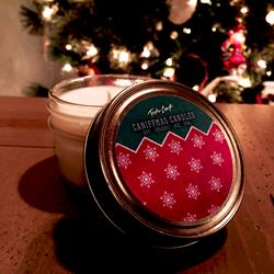 Merry Caniffmas Candle