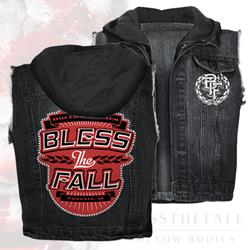 Hollow Bodies Denim Vest