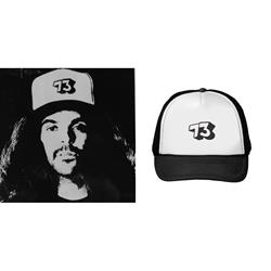 73 White/Black Trucker Hat