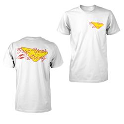Retro Logo White