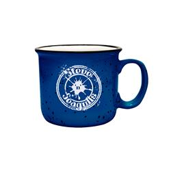 Steve N Seagulls Logo Blue W/ White Speckles Coffee Mug