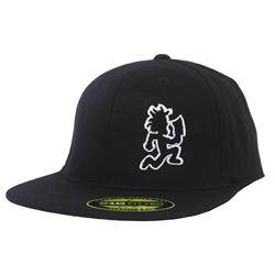 Black Hatchmen Side Black Flexfit Flat Brim
