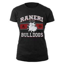 Bulldogs Black Girl's T-Shirt