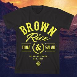 Brown Rice, Tuna & Salad Black