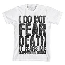 It Fears Me White T-Shirt
