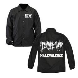 Malevolence Black Windbreaker