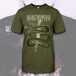 Snake Olive Green T-Shirt