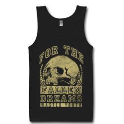 Skull Black Tank Top