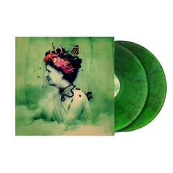 Empress Rising Clear Green With Black Swirl 2X LP