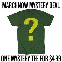 ONE MYSTERY TEE FOR $4.99