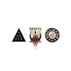 Hooligans 3 Enamel Pins Pack