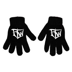 Logo Black Gloves