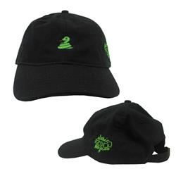 Snake Black Dad Hat
