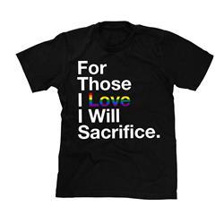 Pride Sacrifice Black