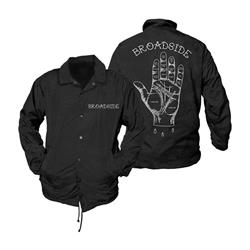 Story Teller Black Windbreaker