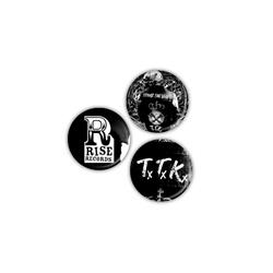 Teenage Time Killers 3-Pack Pins 1.25