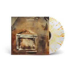 Death Is A Warm Blanket Clear W/ Heavy Orange Splatter