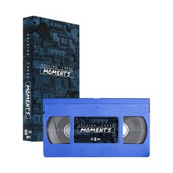 Holding These Moments  Blue VHS Tape