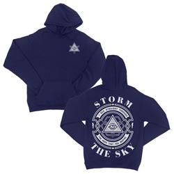 Same Graves Navy Pullover