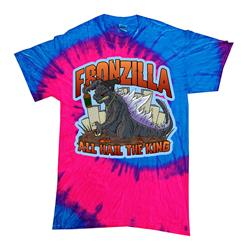 All Hail The King Blue/Pink Tie Dye