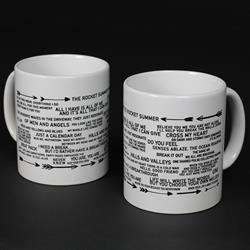 Lyric White Coffee Mug