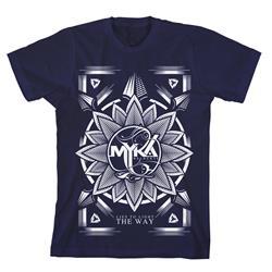 Flower Navy T-Shirt