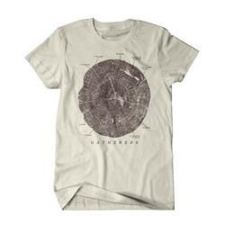 Tree Rings Sand T-Shirt