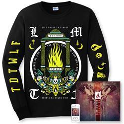 Like Moths To Flames - TDTWLF CD + Longsleeve
