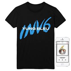 INV6 Black T-Shirt + Album Digital Download