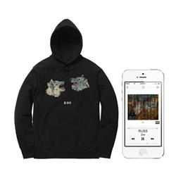 Wolf Heads Hoodie +Digital Album