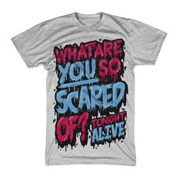 What Are You Scared Of? Red / Blue