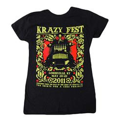 Krazyfest Shirts For A Cure Black