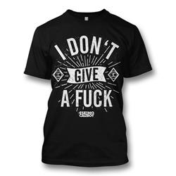 I Don't Give A Fuck Black T-Shirt
