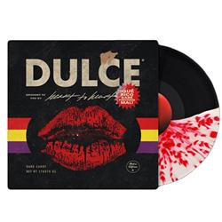 Dulce Half Black/Half Clear W/Red Splatter LP