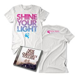 New Hope Christian College - CD & T-Shirt Bundle