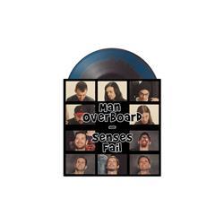 Split Black/Aqua Blue Smash 7 Inch LP